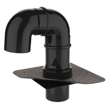 """Trecere pentru instalații (pipa) tip """"gât de lebădă"""" XL"""