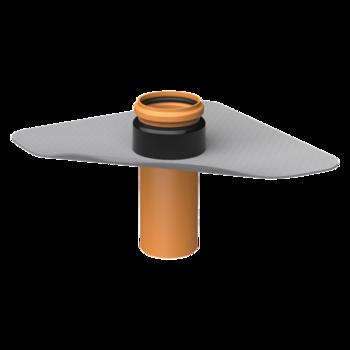 Trecere prin barieră de vapori XL TOPWET cu flansă din membrana PVC