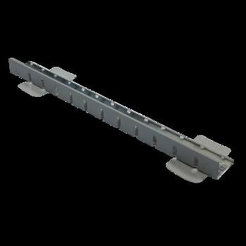 Profil de separaţie sau de margine din tablă caserata cu membrana PVC
