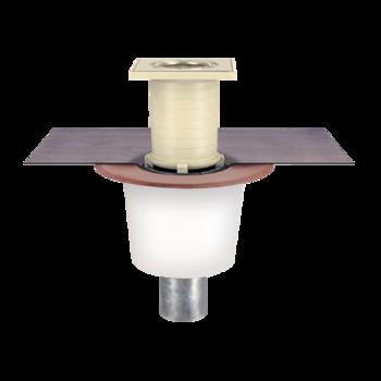 Receptor pentru balcon cu degivrare si conectare la un strat, in sistem continuu