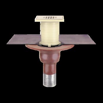 Receptor pentru balcon cu conectare la un strat, in sistem continuu, pentru ultimul etaj