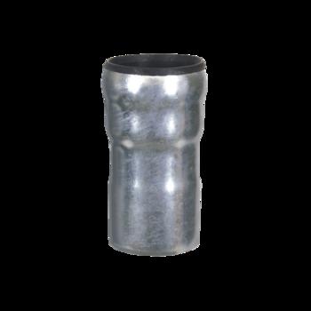 Piesă de trecere de la conducte LORO la conducte din plastic sistem PVC KG sau HT