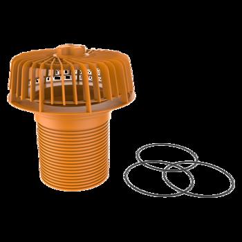 Deversor de siguranță(prea-plin) pentru instalare în câmp