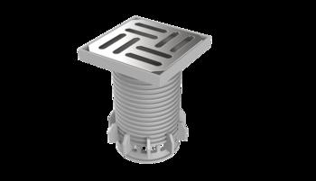 Adaptor/înălțător circulabil parțial perforat