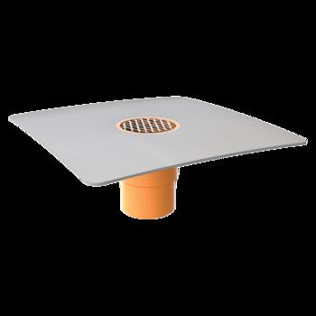 Receptor de balcon TOPWET cu flanșă din membrană PVC