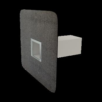 Deversor de siguranță(prea-plin) TOPWET cu secțiune rectangulară