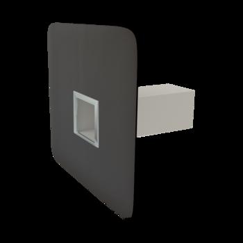 Deversor de siguranță(prea-plin) TOPWET cu secțiune rectangulară, flanșă la comandă (EPDM, TPO, FPO, PE, STE – hidroizolatii lichide/pensulabile)