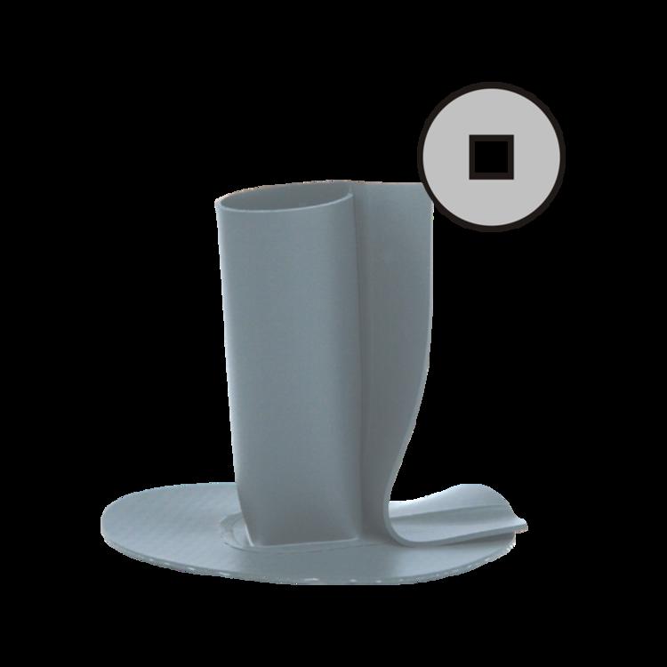 Flanșă de etanșare cu profil rectangular deschis