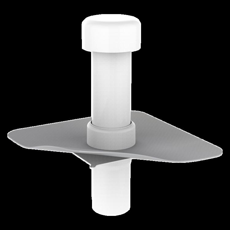 Aerisire de coloană TOPWET cu flanșă din membrană PVC