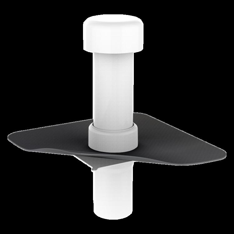 Aerisire de coloană TOPWET cu flanșă la comandă (EPDM, TPO, FPO, PE, STE – hidroizolatii lichide/pensulabile)