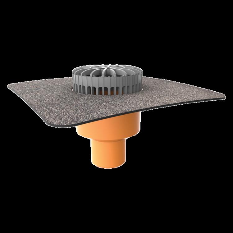 Receptor terasă TOPWET cu flanșă din membrană bituminoasă