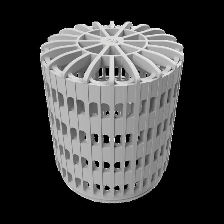 Coș/adaptor acoperișuri cu pietriș