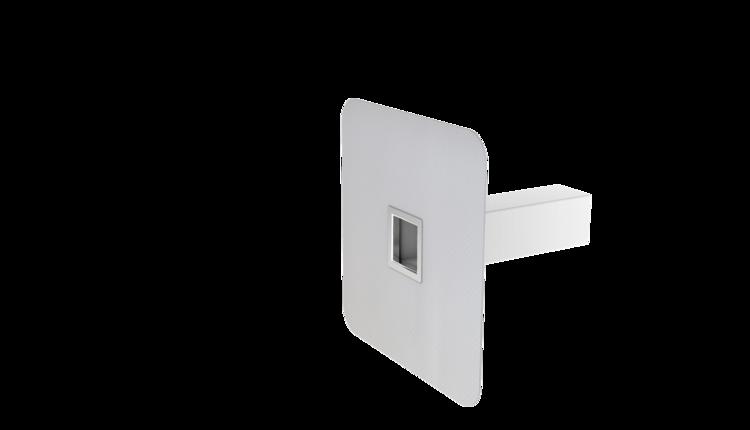 Deversor de siguranţă cu sectiune rectangulară cu manşetă integrată din PVC